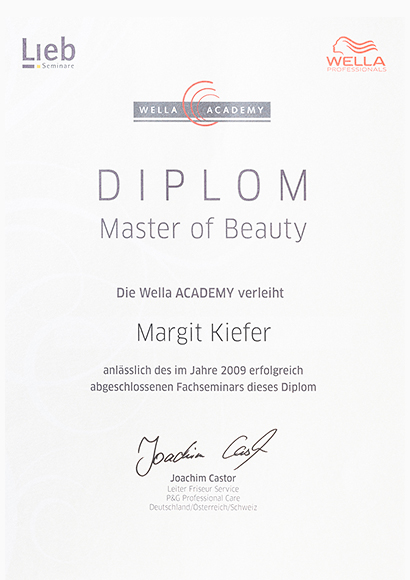 Wella Master of Beauty